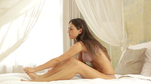 Morning of loving couple begins with awesome sex