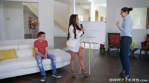 Lela Star gives her student his best private tutor experience