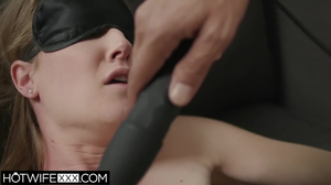 Ashley Lane gets her pussy drilled while standing