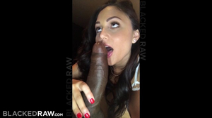 Sexy brunnette babe Ariana Marie takes BBC in thrilling positions
