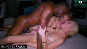 Two hot white babes enjoys Rob piper's BBC