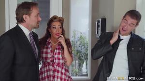 Hot MILF Richelle Ryan enjoys every bit of Xander's thick cock