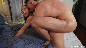 Extra fit whore getting screwed by another man